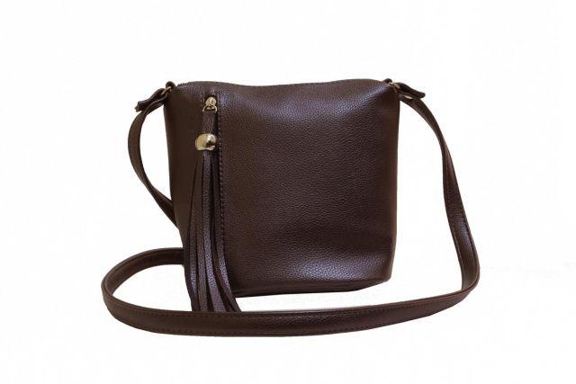 1903 сумка женская коричневая