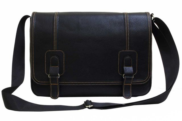 1932 сумка мужская черная