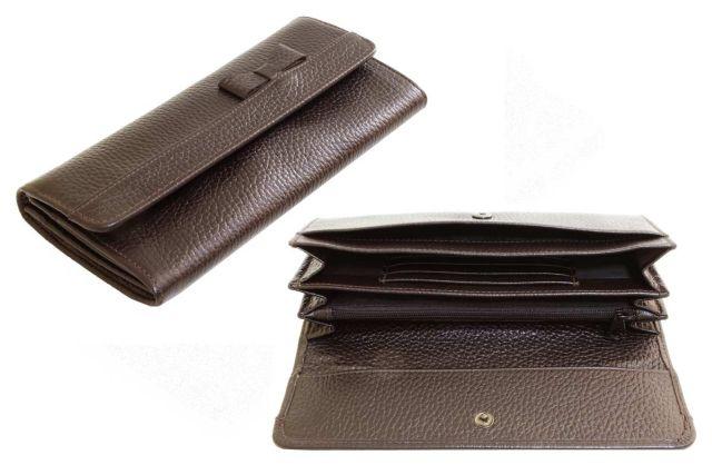 1324н портмоне коричневое