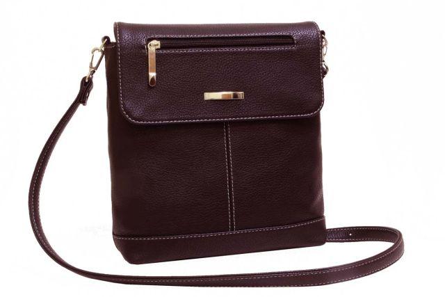 1933 сумка женская коричневая