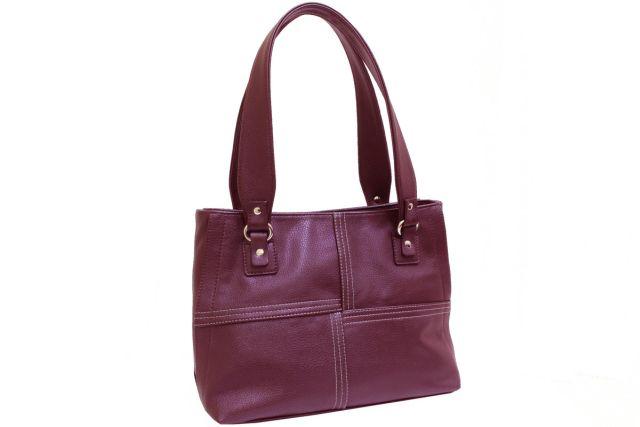 1937 сумка женская бордовая
