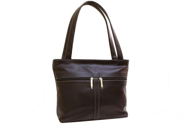 1942 сумка женская коричневая