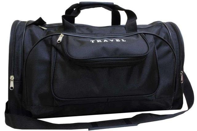 1501к сумка дорожная черная