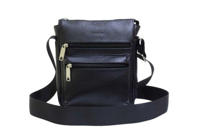 1935н сумка мужская черная