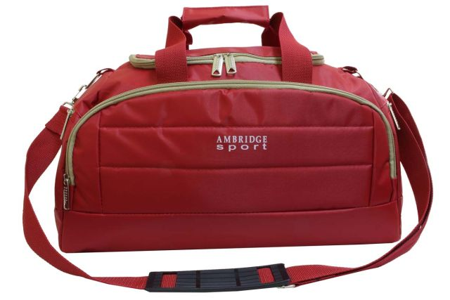 1122к сумка спортивно-дорожная красная
