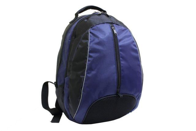0589к рюкзак черный/синий