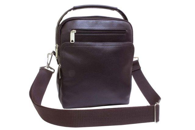 2004 сумка мужская коричневая