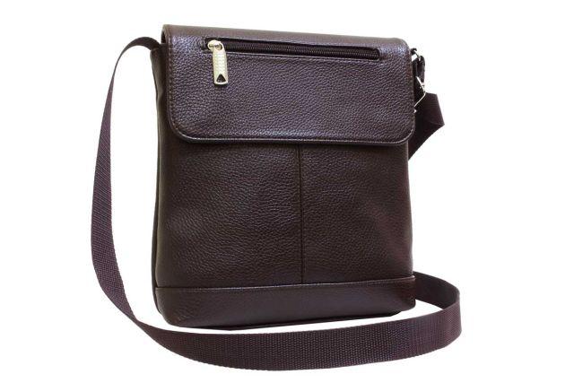 1934 сумка мужская коричневая