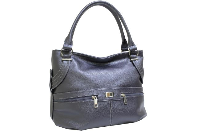 1812 сумка женская серая