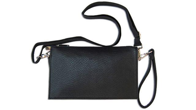 1414н сумка мужская молодежная черная