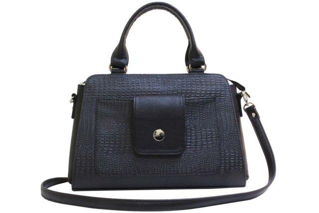 2016 сумка женская черный крок/черная