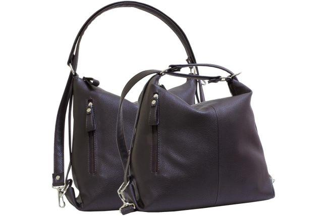 2052 сумка женская коричневая