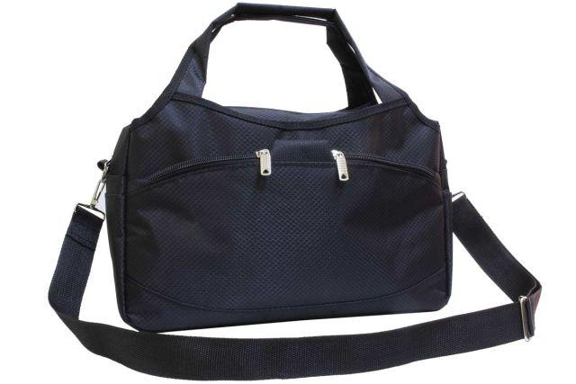 1936к сумка спортивно-дорожная черная