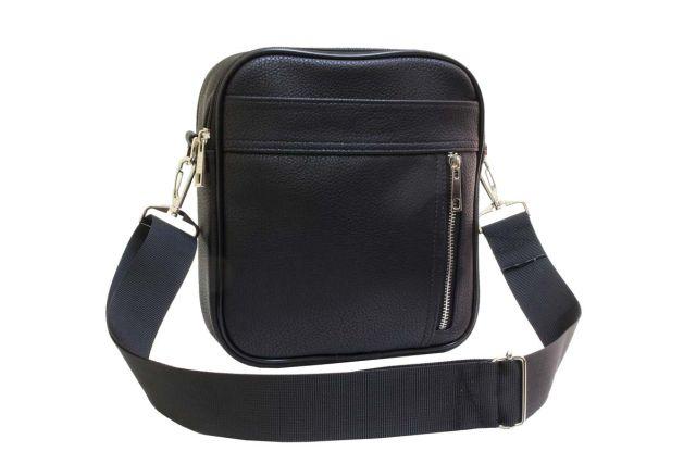 2039 сумка мужская черная