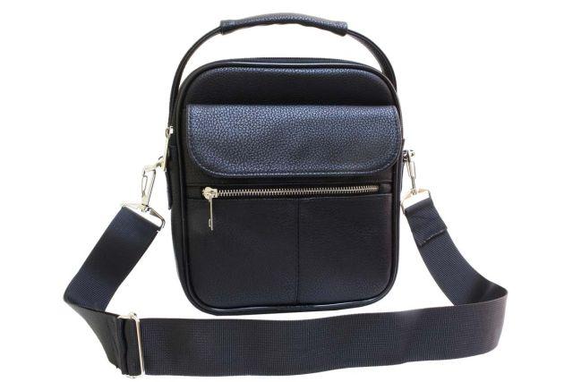 2042 сумка мужская черная
