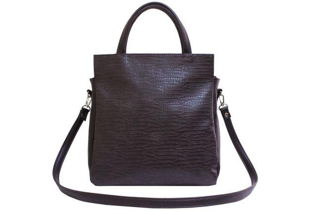 2053 сумка женская коричневый крок