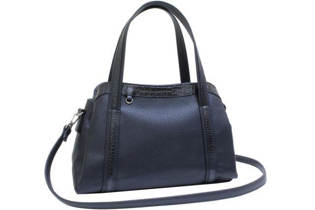 2003 сумка женская черная/черный крок