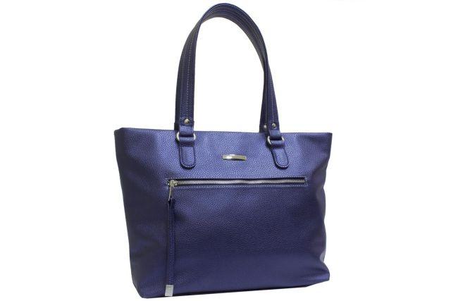 2054 сумка женская синяя