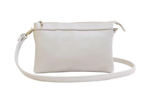1405 сумка женская светло-серая