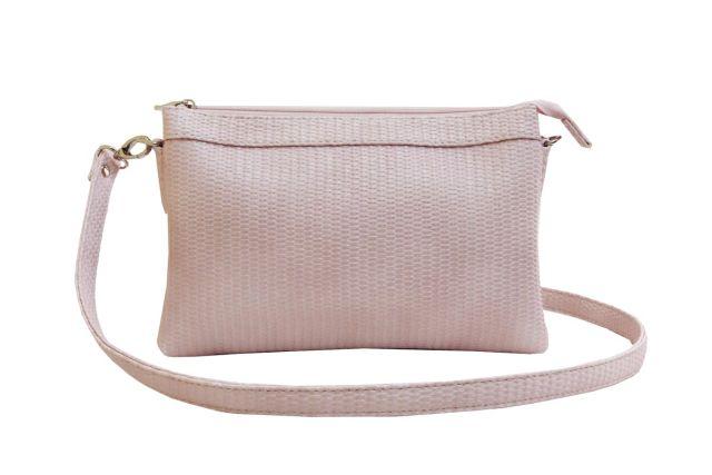 1405 сумка женская розовая