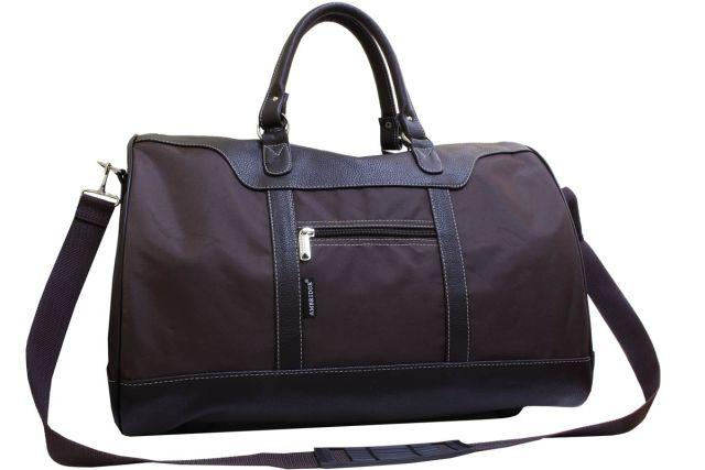 1115к сумка дорожная коричневая