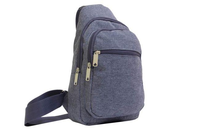 2043к сумка молодежная серая