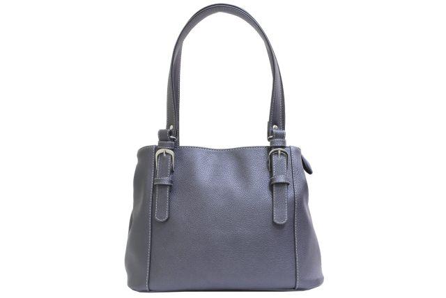 1741 сумка женская серая
