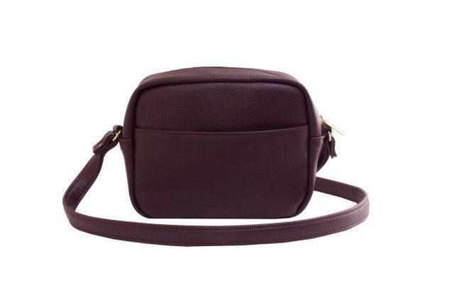1924 сумка женская бордовая